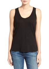 AG Adriano Goldschmied AG The Corey Cotton & Cashmere Tank