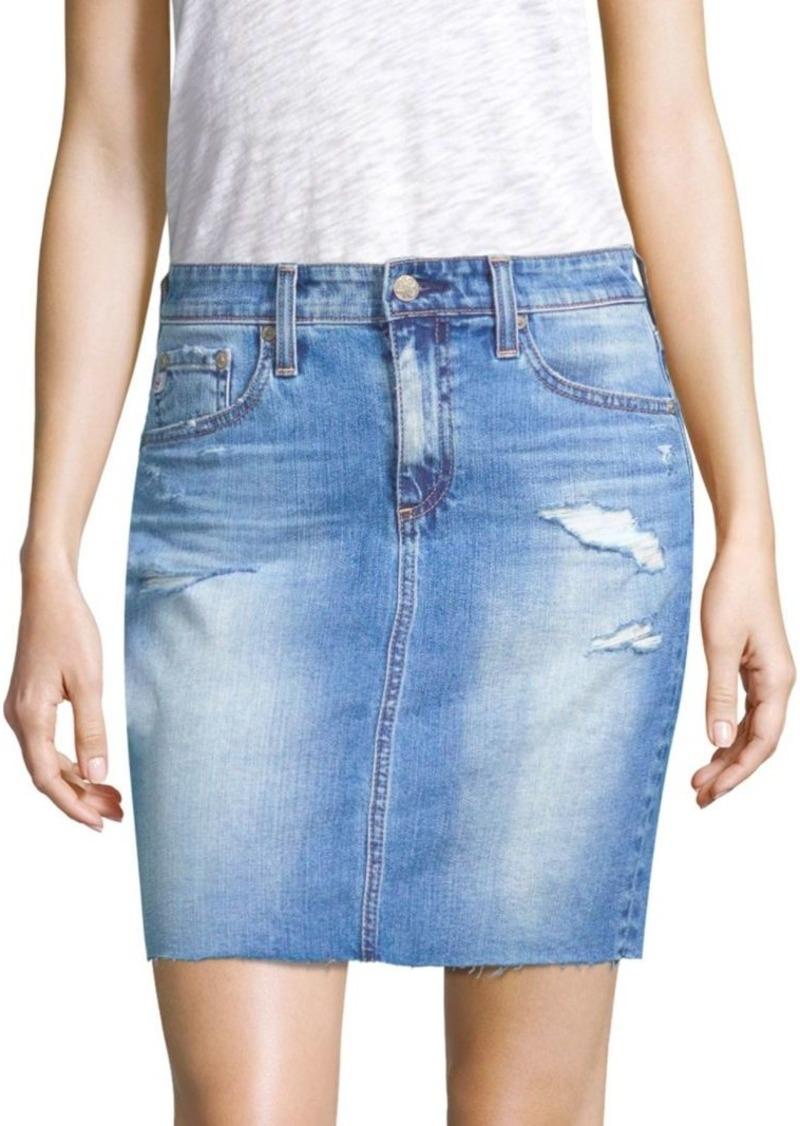15be13d050 AG Adriano Goldschmied The Erin Denim Skirt