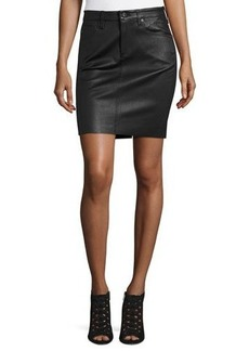 AG Adriano Goldschmied AG The Erin Leather Skirt
