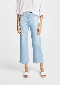 AG Adriano Goldschmied AG The Etta Waistless Wide Leg Cropped Jeans