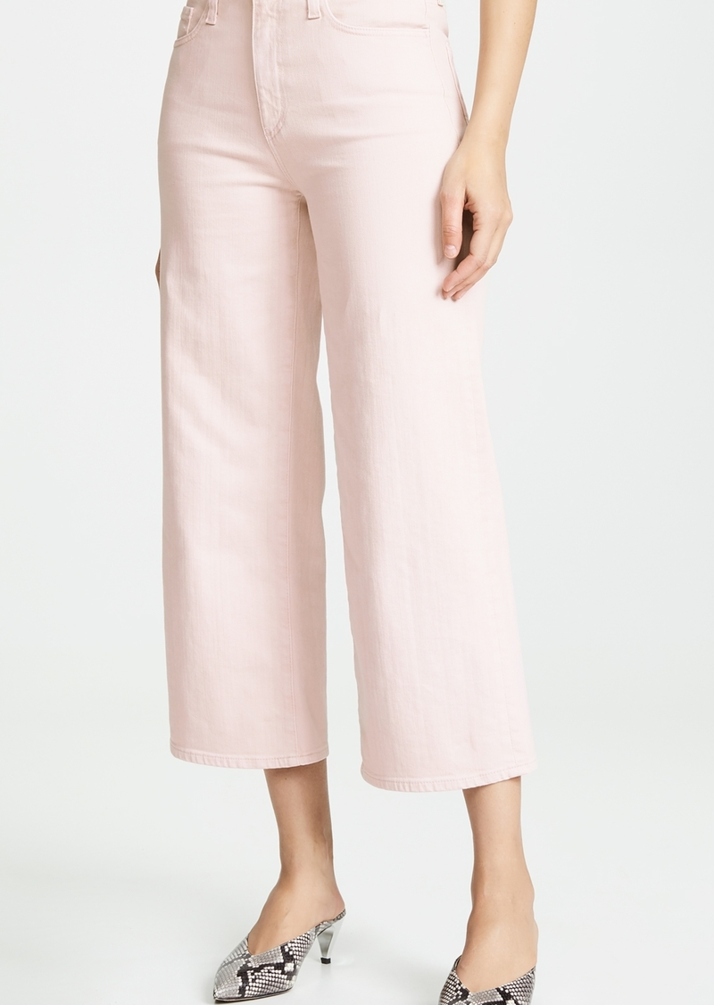 AG The Etta Wide Leg Cropped Jeans