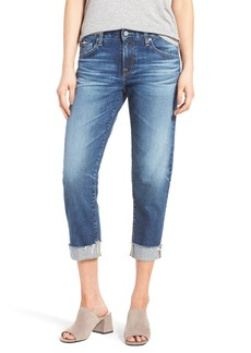 AG Adriano Goldschmied AG The Ex Boyfriend Crop Jeans (12 Years Blue Aura)