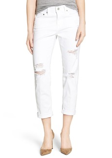 AG Adriano Goldschmied AG 'The Ex-Boyfriend' Crop Slim Jeans