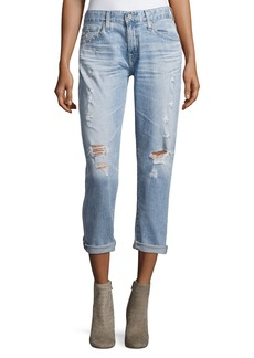 AG The Ex-Boyfriend Distressed Slim Jeans