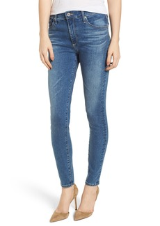 AG The Farrah Ankle Skinny Jeans (California Blue)