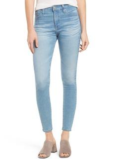 AG The Farrah High Waist Crop Skinny Jeans