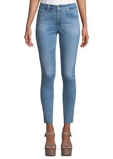 AG The Farrah High-Rise Skinny Ankle Jeans