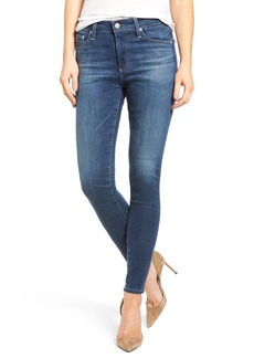 AG 'The Farrah' High Rise Skinny Jeans (05 Year Retrograde)