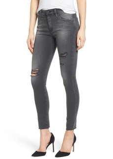 AG The Farrah High Waist Skinny Jeans (8 Years Eroded)