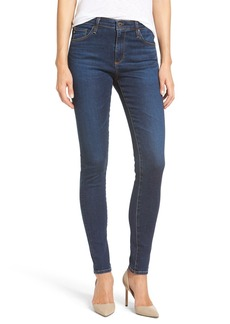 AG 'The Farrah' High Rise Skinny Jeans