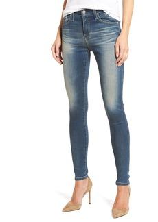 AG 'The Farrah' High Rise Skinny Jeans