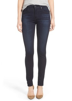 AG 'The Farrah' High Rise Skinny Jeans (Brooks)