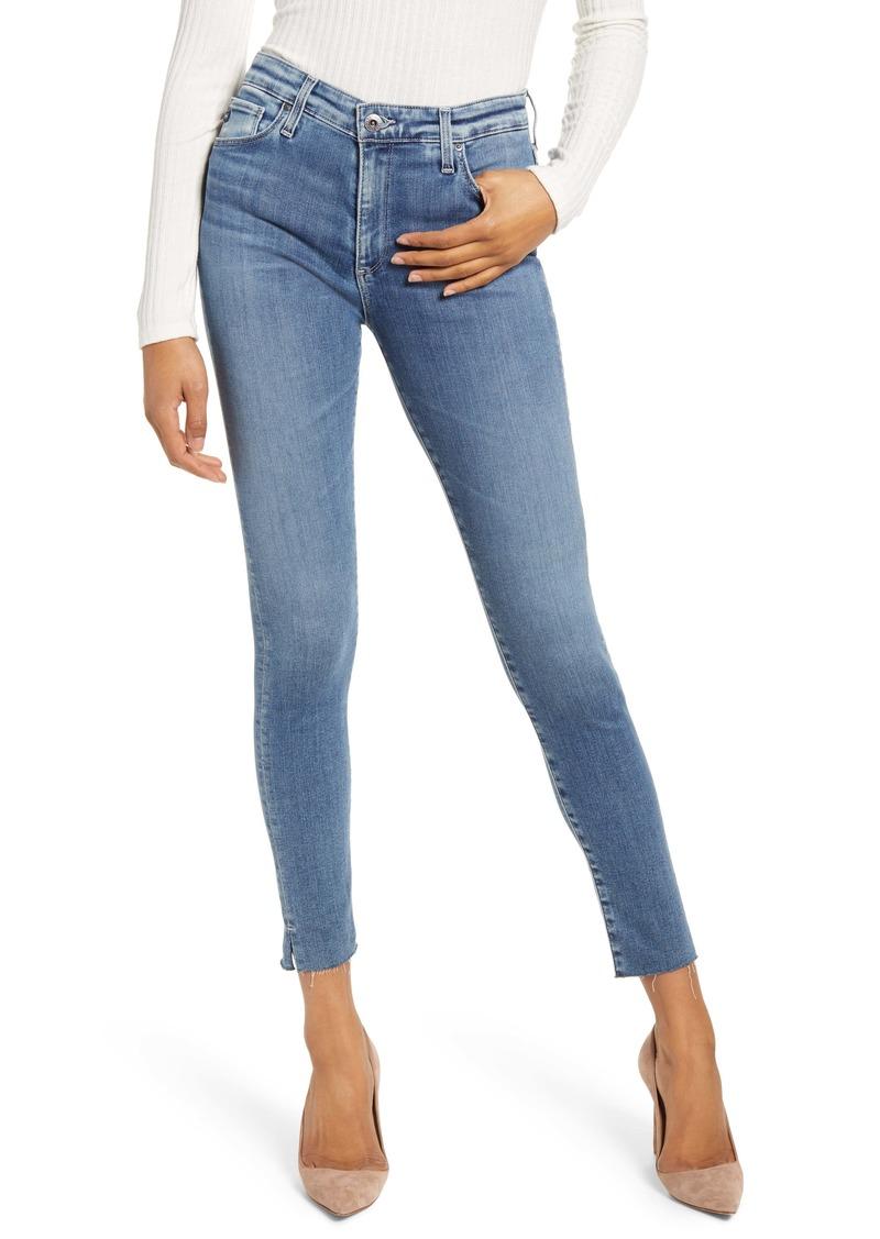 AG Adriano Goldschmied AG The Farrah High Waist Ankle Skinny Jeans (Mastic)