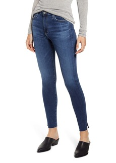 AG Adriano Goldschmied AG The Farrah High Waist Ankle Skinny Jeans (11 Years Blue Bound)