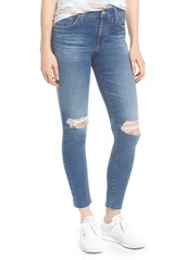 AG Adriano Goldschmied AG The Farrah High Waist Ankle Skinny Jeans (13 Year Saltwater)