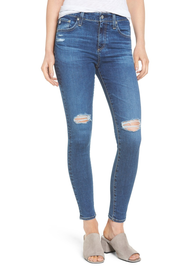 62a435cb6c4e AG Adriano Goldschmied AG The Farrah High Waist Ankle Skinny Jeans (13  Years Day Break