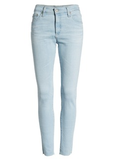 AG Adriano Goldschmied AG The Farrah High Waist Ankle Skinny Jeans (14 Years Blue Garden)