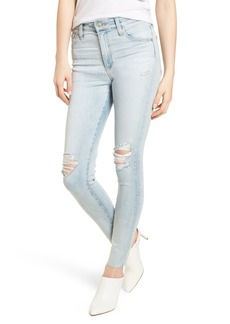 AG The Farrah High Waist Ankle Skinny Jeans (24 Years - Seabird)