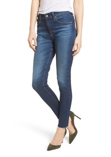 AG The Farrah High Waist Ankle Skinny Jeans (7 Year Chasm)
