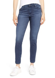 AG Adriano Goldschmied AG The Farrah High Waist Ankle Skinny Jeans (Pacific Indigo)