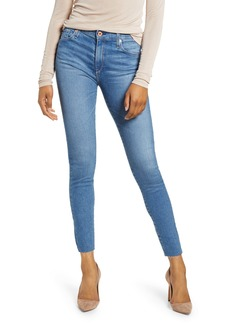 AG Adriano Goldschmied AG The Farrah High Waist Ankle Skinny Jeans (Precision)