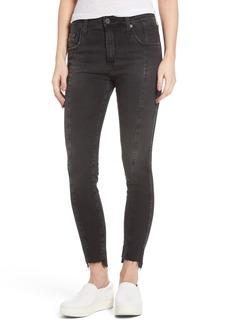 AG The Farrah High Waist Ankle Skinny Jeans (Thirteen)