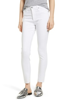 AG Adriano Goldschmied AG The Farrah High Waist Raw Hem Ankle Skinny Jeans