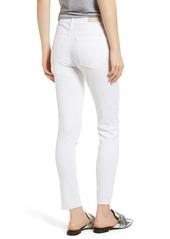 AG Adriano Goldschmied AG The Farrah High Waist Raw Hem Ankle Skinny Jeans