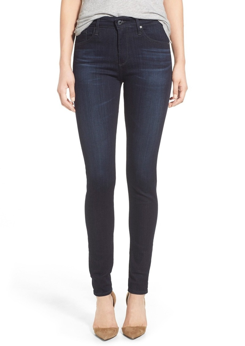 AG Adriano Goldschmied AG The Farrah High Waist Skinny Jeans (Brooks)