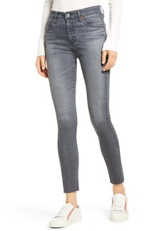 AG Adriano Goldschmied AG The Farrah High Waist Skinny Jeans (Gray Pearl)
