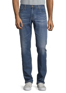 AG Adriano Goldschmied AG Cotton-Blend Faded Denim Pants