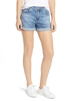 AG Adriano Goldschmied AG The Hailey Cuff Denim Shorts (14 Years Foxtail)