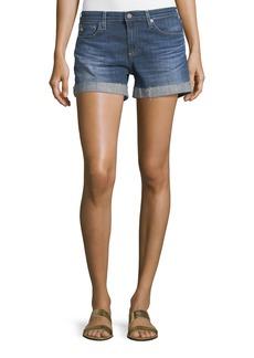 AG Adriano Goldschmied The Hailey Raw-Hem Shorts