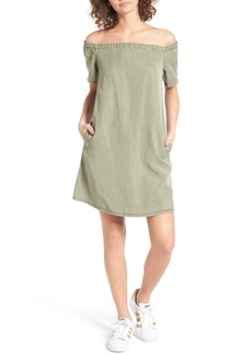 AG Adriano Goldschmied AG The Harley Off the Shoulder Dress
