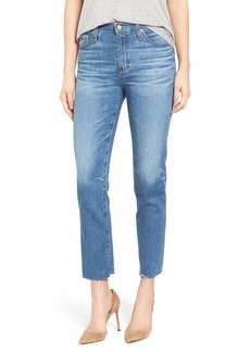 AG The Isabelle Crop Straight Leg Jeans (14 Years Daring)