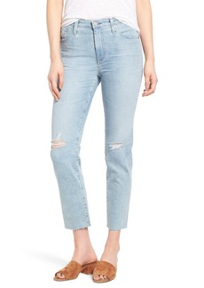 AG The Isabelle Crop Straight Leg Jeans (20 Years Rogue)
