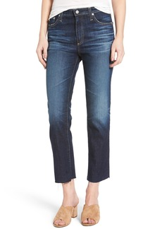 AG The Isabelle Crop Straight Leg Jeans (9 Years Amendment)