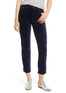 AG Adriano Goldschmied AG The Isabelle High Waist Ankle Straight Leg Jeans