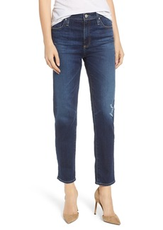 AG Adriano Goldschmied AG The Isabelle High Waist Crop Straight Leg Jeans (12 Years Verbiage)