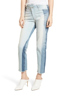 AG The Isabelle High Waist Crop Straight Leg Jeans (21 Years Illusion)