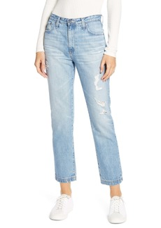 AG Adriano Goldschmied AG The Isabelle High Waist Crop Straight Leg Jeans (23 Years Cinematic)