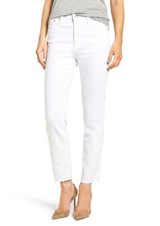 AG Adriano Goldschmied AG The Isabelle High Waist Crop Straight Leg Jeans
