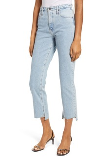 AG Adriano Goldschmied AG The Isabelle High Waist Step Hem Ankle Jeans (1992 Primer)