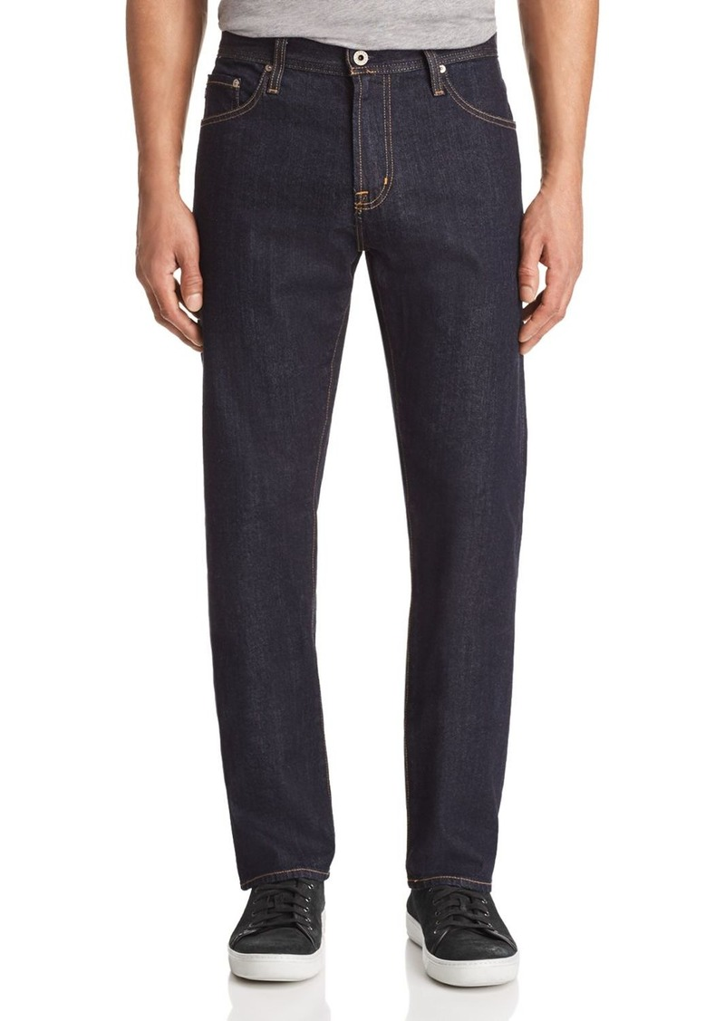 AG Adriano Goldschmied AG The Ives Athletic Straight Fit Jeans in Highway
