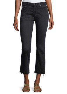 AG The Jodi High-Rise Slim Flare Crop Jeans