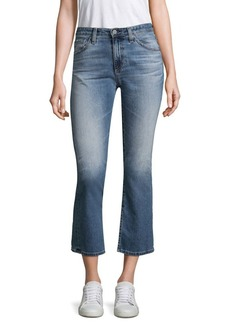 AG Adriano Goldschmied The Jodi High-Rise Flared Crop Jeans