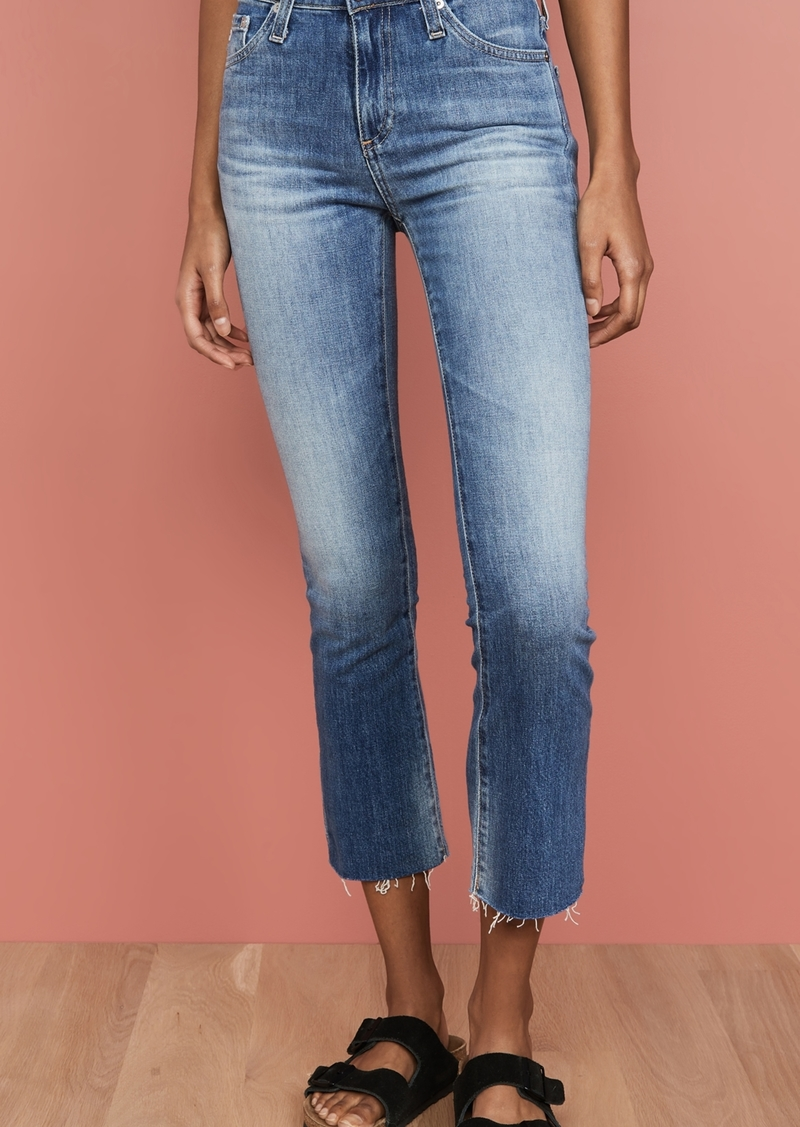 AG Adriano Goldschmied AG The Jodi Slim Flare Crop Jeans