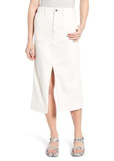 AG Adriano Goldschmied AG The Lana Denim Midi Skirt