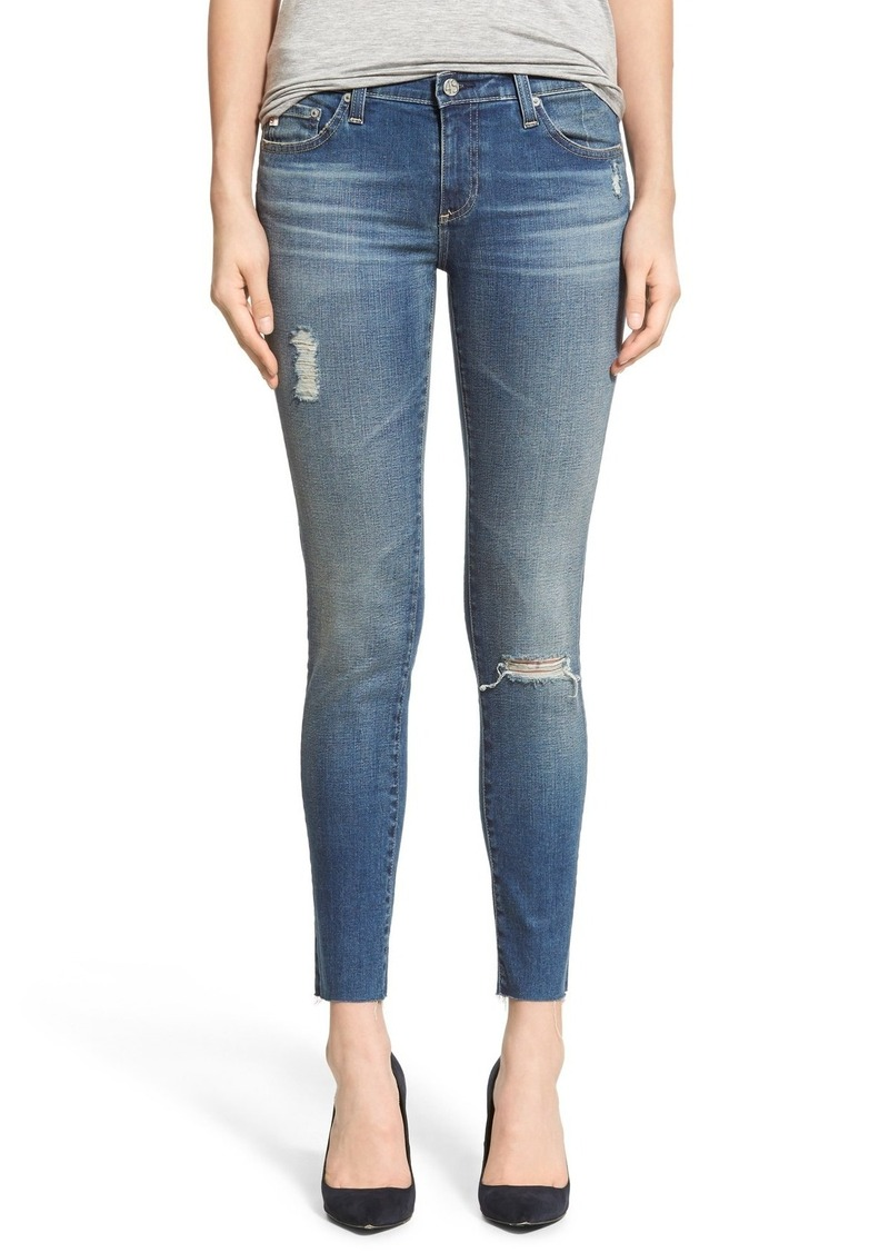 e8fa9c24e42ae AG Adriano Goldschmied AG The Legging Ankle Jeans (18 Years Destroyed)