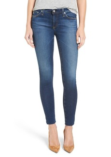 AG Adriano Goldschmied AG 'The Legging' Ankle Jeans (7 Year Break with Raw Hem)